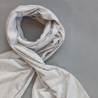 XL scarf stripe for women L.E.