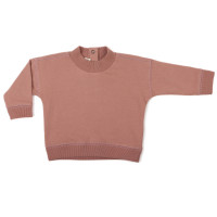 Baby rib-neck sweater