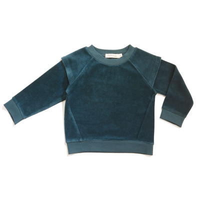 Charity sweater velvet
