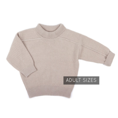 Oversized knit sweater - ADULT