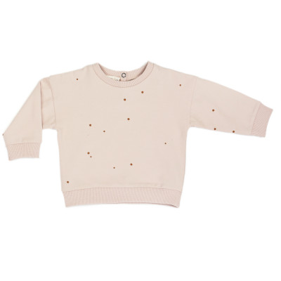Baby summer sweater dots