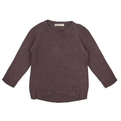 Cashmere-blend knit sweater