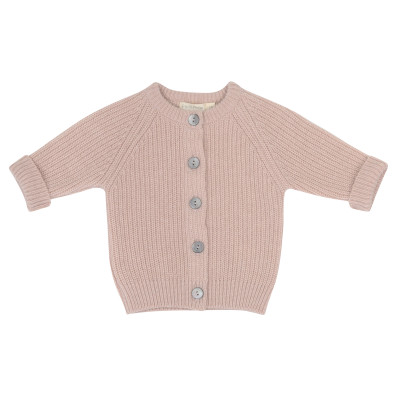 Cashmere-blend baby cardigan